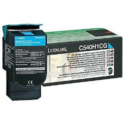 Lexmark C540H1CG Cyan High Yield Prebate (Genuine)