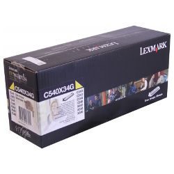 Lexmark C540X34G Yellow Development Unit