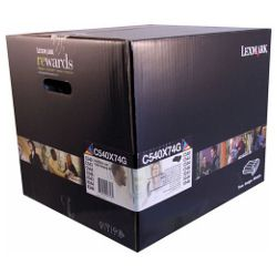 Lexmark C540X74G Black & Colour Imaging Unit