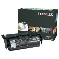 Lexmark T650A11P Black Prebate (Genuine)