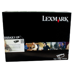 Lexmark T654X11P Black Extra High Yield Prebate (Genuine)