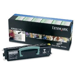 Lexmark X203A11G Black Prebate (Genuine)