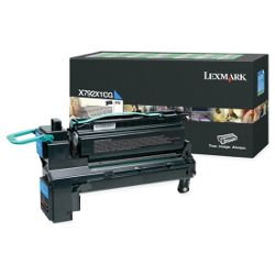Lexmark X792X1CG Cyan High Yield Prebate (Genuine)