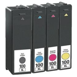 Compatible 100XL 5 Pack Bundle (14N1068-71A)