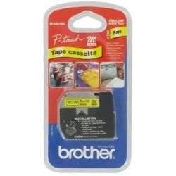 Brother M-K621 Black on Yellow (Genuine)