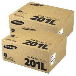 Samsung MLT-D201L 2 Pack Bundle (Genuine)