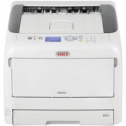 Oki C833dn Colour Laser Printer + Duplex