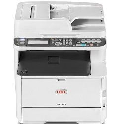 Oki MC363dn Multi Function Colour Laser Printer + Duplex