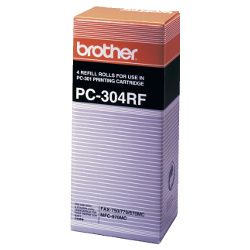 Brother PC-304RF 4 Pack Bundle (Genuine)