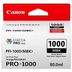 Canon PFI-1000MBK Matt Black (Genuine)