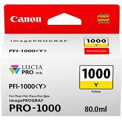 Canon PFI-1000Y Yellow (Genuine)