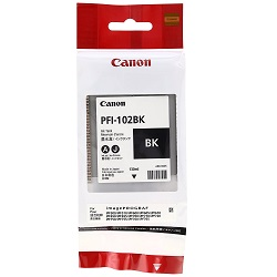 Canon PFI-102BK Black (Genuine)