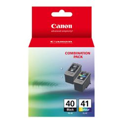 Canon PG-40/CL-41 2 Pack Bundle (Genuine)