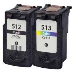 Remanufactured PG-512/CL-513 3 Pack Bundle