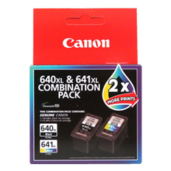 Canon PG-640XL/CL-641XL 2 Pack Bundle (Genuine)