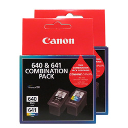 Canon PG-640/CL-641 4 Pack Bundle (Genuine)