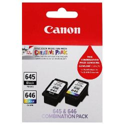 Canon PG-645/CL-646 2 Pack Value Pack (Genuine)