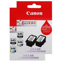 Canon PG-645/CL-646 4 Pack Value Pack (Genuine)