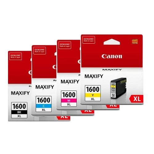 Canon PGI-1600XL 4 Pack Bundle (Genuine)