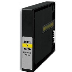 Compatible PGI-2600XLY Yellow High Yield