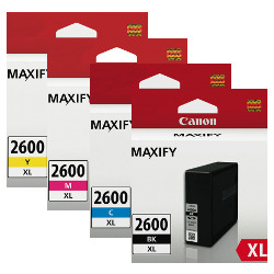 Canon PGI-2600XL 8 Pack Bundle (Genuine)