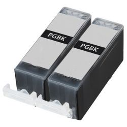 Compatible PGI-520BK 2 Pack Bundle