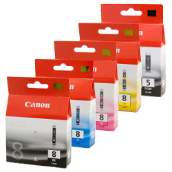 Canon PGI-5/CLI-8 10 Pack Bundle (Genuine)