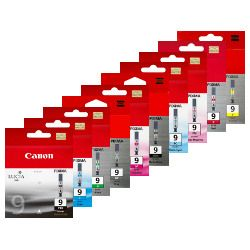 Canon PGI-9 20 Pack Bundle (Genuine)