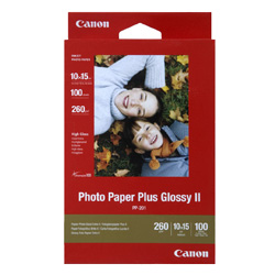 Canon PP-2014X6-100 4x6 inch Glossy II Photo Paper Plus