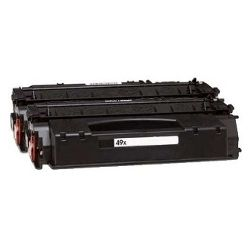 Remanufactured 49X 2 Pack Bundle