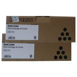 Ricoh 407247 2 Pack Bundle (Genuine)
