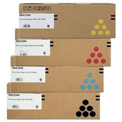 Ricoh 407547-50 4 Pack Bundle (Genuine)