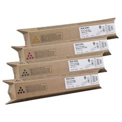 Ricoh 821074-7 4 Pack Bundle  (Genuine)