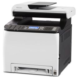 Ricoh SP C252SF Multi Function Colour Laser Wireless Printer + Duplex