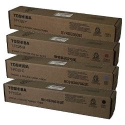 Toshiba T-FC25-# 4 Pack Bundle  (Genuine)