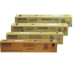 Toshiba T-FC30U 4 Pack Bundle (Genuine)