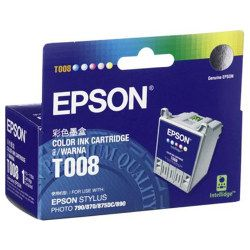 Epson T008 Colour (Genuine)