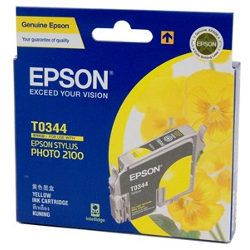 Epson T0344 Yellow (Genuine)