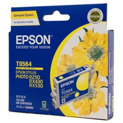 Epson T0564 Yellow (Genuine)