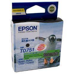 Epson T0751 Black (Genuine)