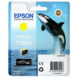 Epson T7604 Yellow (Genuine)