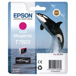 Epson T7606 Vivid Light Magenta (Genuine)