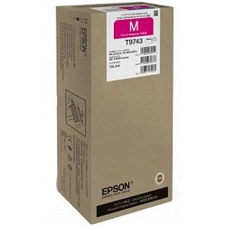 Epson T9743 Magenta High Yield (Genuine)