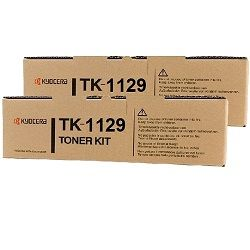 Kyocera TK-1129 2 Pack Bundle (Genuine)