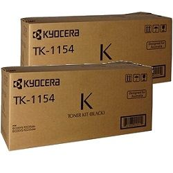 Kyocera TK-1154 2 Pack Bundle (Genuine)