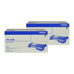 Brother TN-2230 2 Pack Bundle (Genuine)