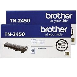 Brother TN-2450 2 Pack Bundle (Genuine)