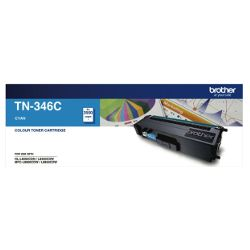 Brother TN-346C Cyan High Yield (Genuine)