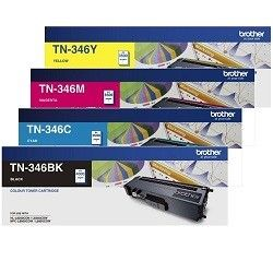 Brother TN-346 4 Pack Bundle (Genuine)