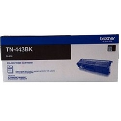 Brother TN-443BK Black High Yield Toner Cartridge (Genuine)